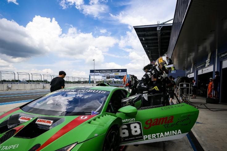 2018_Lamborghini_Super_Trofeo_Asia亞洲挑戰賽第二站,Lamborghini_Taipei車手代表陳意凡問鼎Pro-Am車手積分桂冠(2).jpg