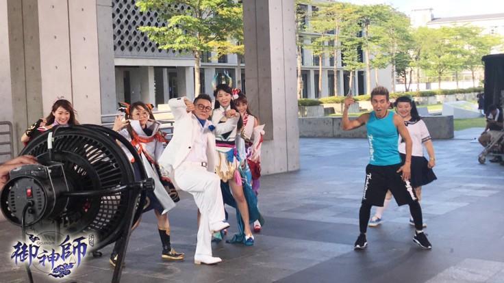 圖3-沈氏浮誇版freestyle「笑」果爆表 和特別演出的潘若迪展開Battle尬舞