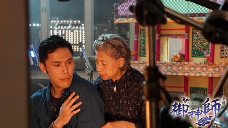 圖6-金像獎影后「羅蘭」化身龍婆首度為手遊代言與香港知名網紅拍攝微電影