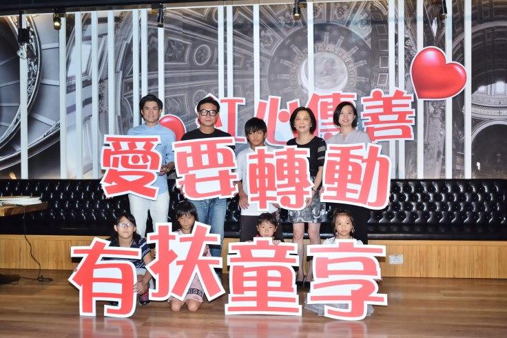 角聲公益協會秘書長-蘇慧賢+錢小豪+小朋友+紅心字會秘書長李顯文+震旦集團代表蘇文儀.JPG