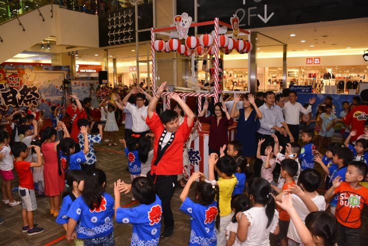 2018好侍咖哩夏日祭歡慶105歲特邀105位萌童跳日本盆舞