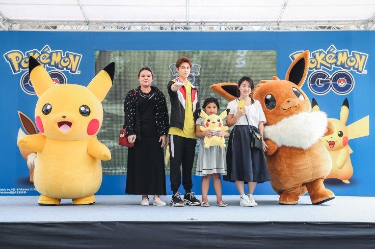 3位幸運獲選的粉絲不但成為王子為期一週的Pokémon GO朋友,還獲得王子親贈的友情禮物