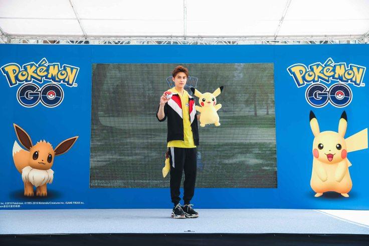 王子現身Pokémon GO首次社群日見面會