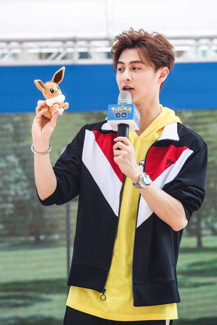 Pokémon GO資深玩家藝人王子(邱勝翊)透露自己最喜歡的就是伊布