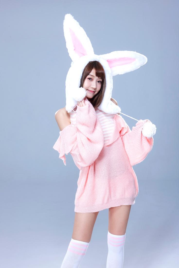四葉草萌兔照片