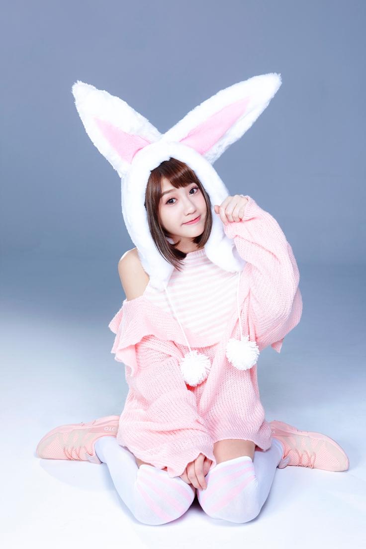 四葉草萌兔照片2