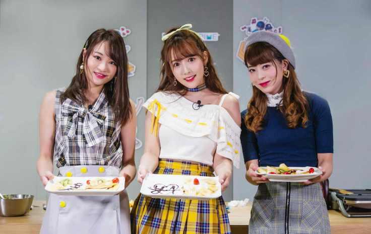 左起為松田美子、中間為三上悠亞、右邊為櫻萌子;三位組合為團體蜂蜜爆米花-5_exposure