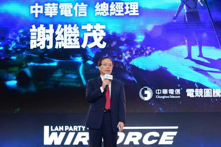 圖一 中華電信電競圖騰發表會 謝繼茂總經理致詞