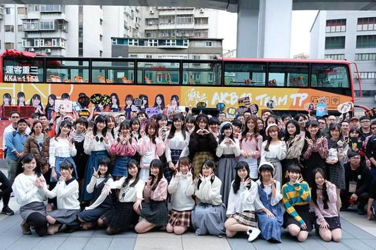akb48 team tp全體33位成員與先到場紛絲歡樂大合照
