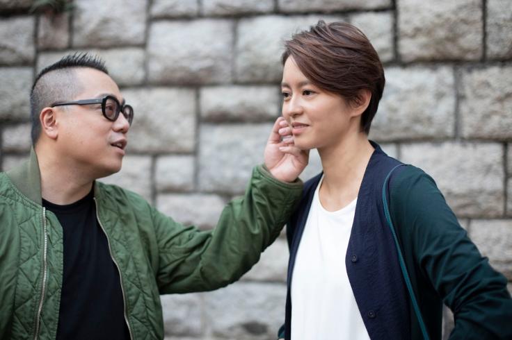 彭浩翔與梁詠琪對戲