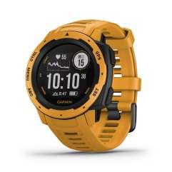 全新 Garmin Instinct GPS 腕錶_日耀黃