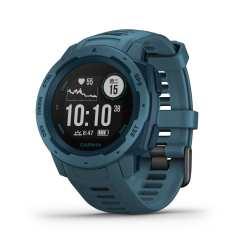 全新 Garmin Instinct GPS 腕錶_湖濱藍
