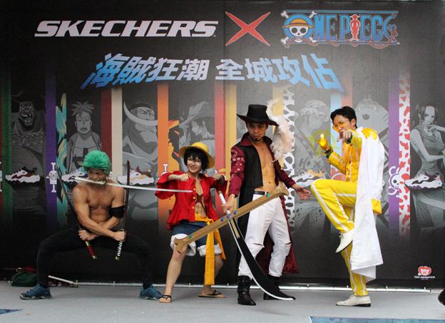 Cosplay大賽虧雞海賊團表演獲得滿堂彩