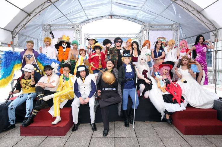 日本動畫歌曲第一唱將許君君與24位熱血鐵粉共同演出,為航海王動畫20周年紀念特展造勢