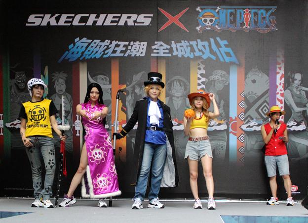 知名coser評審團(由左至右):Akuna 蕾菈 綠葉 瑀熙