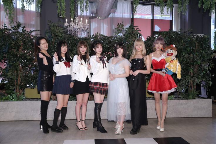 「浪Live人氣女神」子寧、呱呱、禹菡、愛莉、小k貓、妮歐、小糖