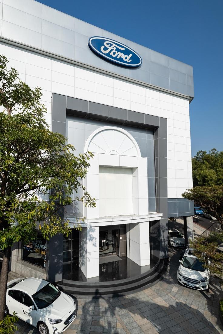 Ford台中地區授權經銷商上立汽車位於台中市文心展示中心暨服務廠已完成新車交車整備中心全新升級