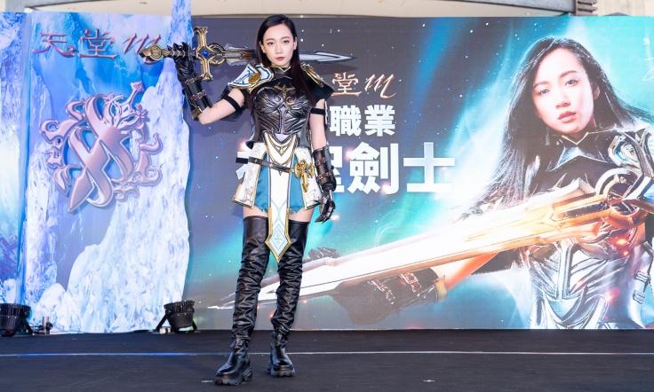 鄉民老婆「吳卓源」代言《天堂M》新職業,展現「神聖劍士」兼具帥氣、美麗與女子力的角色特性