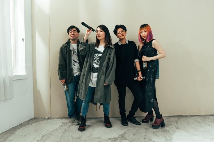 首屆樂手巢創作新秀獎首獎得獎樂團-Blueburn