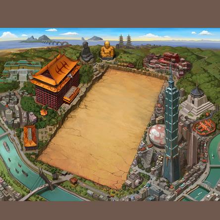 特為台灣玩家打造,專屬場景活動場地