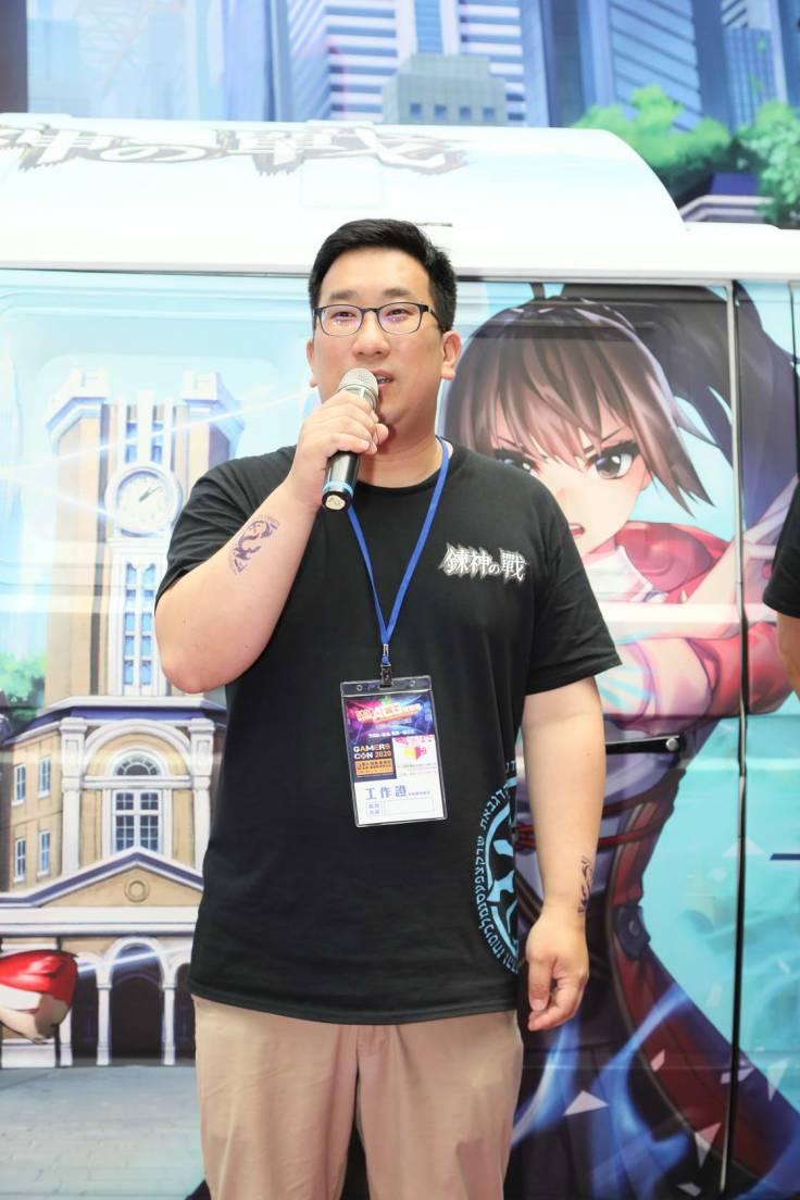 NC Taiwan總經理「徐政德」表示對《鍊神之戰》有很深的期待