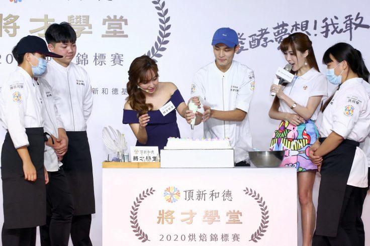 愛紗化身逐夢大使 與選手合力完成夢想蛋糕-01
