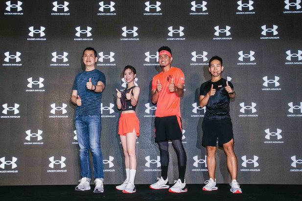 UA深入了解都會型跑者需求,要帶給大家絕佳「智能潮跑、熱血沸騰」奔跑體驗!